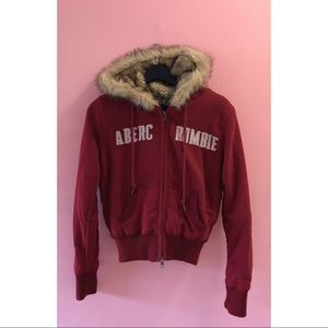 💥3 for $20💥 Abercrombie Fur Lined Hoody